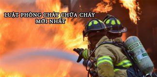 luật phòng cháy chữa cháy mới nhất