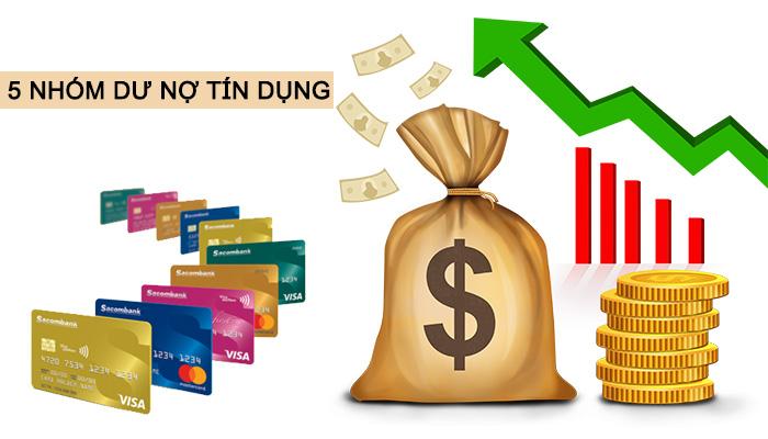 5 nhóm dư nợ tín dụng