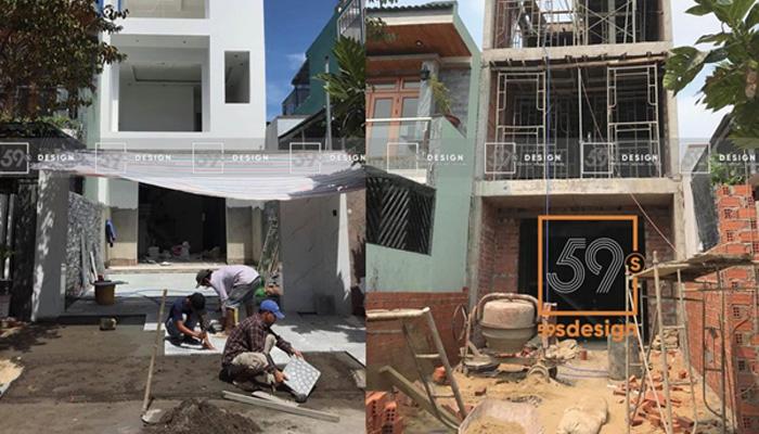 59s design thi công nhà cho khách hàng Đà Nẵng