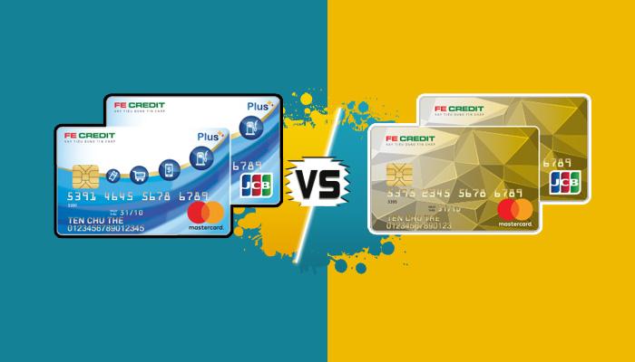 so sánh các loại thẻ tín dụng fe credit card