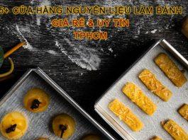 Cửa hàng nguyên liệu làm bánh TPHCM