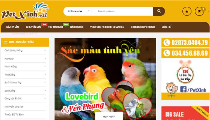 cửa hàng Pet Xinh