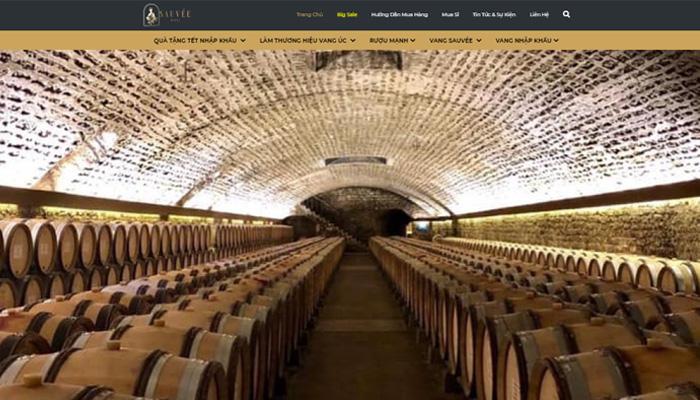 Cửa hàng rượu Sauvee
