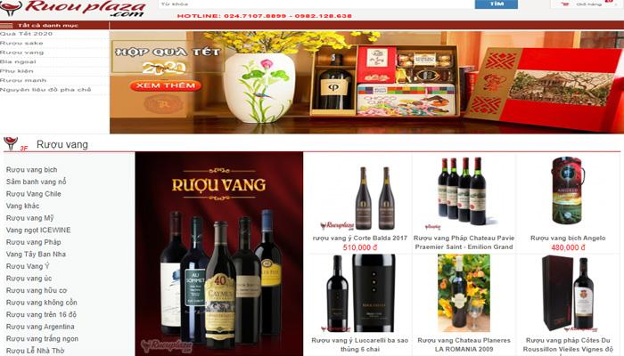 Cửa hàng rượu vang Plaza