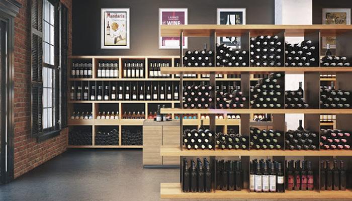 Cửa hàng rượu vang Tây Âu