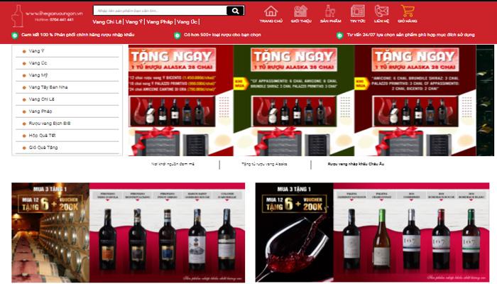 Cửa hàng thế giới rượu ngon