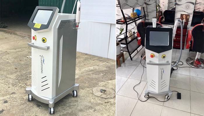 Máy Laser Toning 2020 thực tế