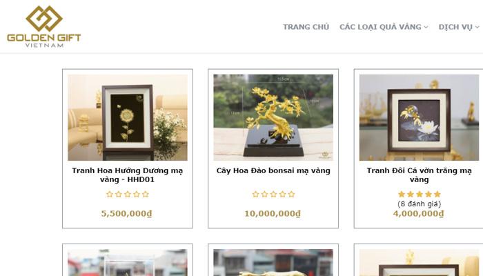 Sản phẩm Golden Gift Việt Nam