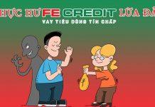 FE Credit lừa đảo