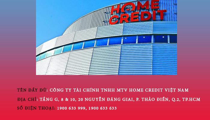 Thông tin Home Credit Việt Nam