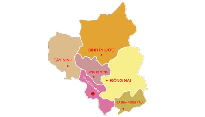 vùng Đông Nam Bộ