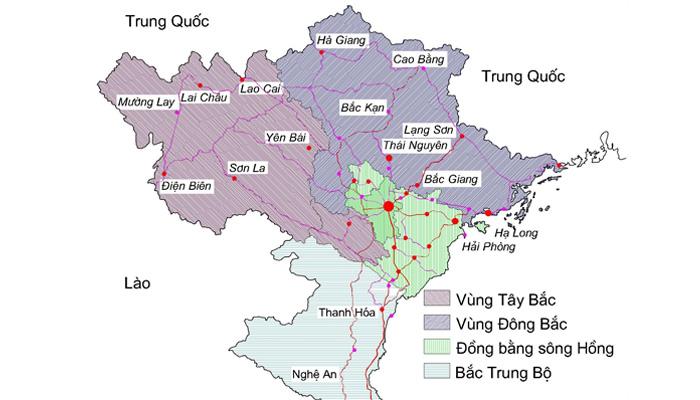 Vùng Trung du và miền núi Bắc Bộ