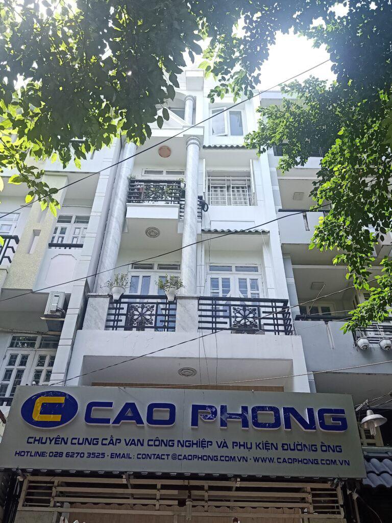 Công ty cung cấp van bướm uy tín Cao Phong