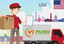 Dịch vụ gửi hàng đi mỹ Vi Minh Express