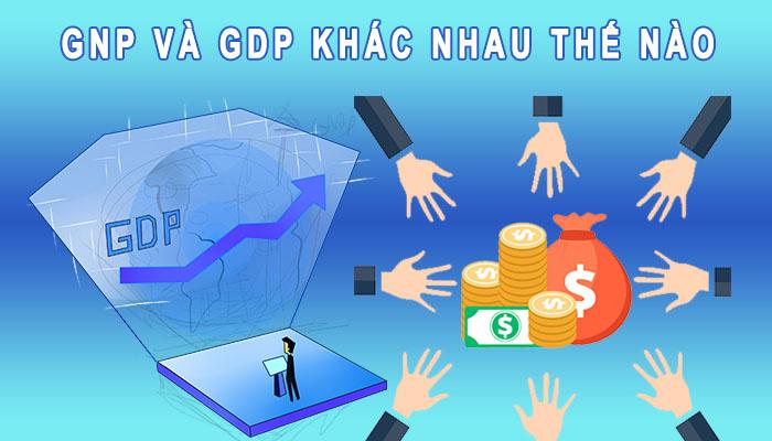 GNP và GDP khác nhau thế nào