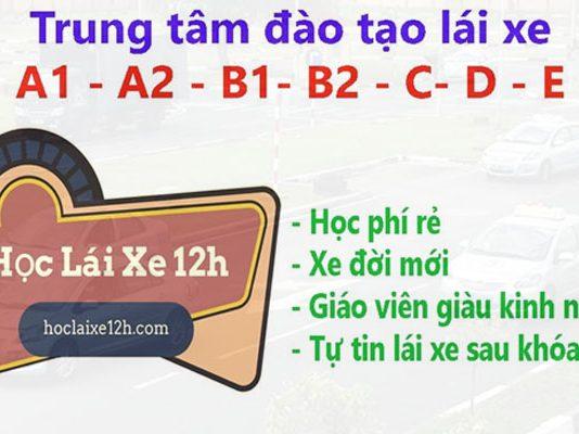 Học lái xe 12h