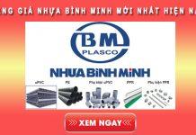 Bảng giá nhựa Bình Minh mới nhất hiện nay