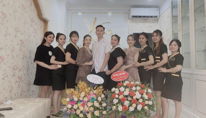 Đội ngũ nhạn viên Kim Spa