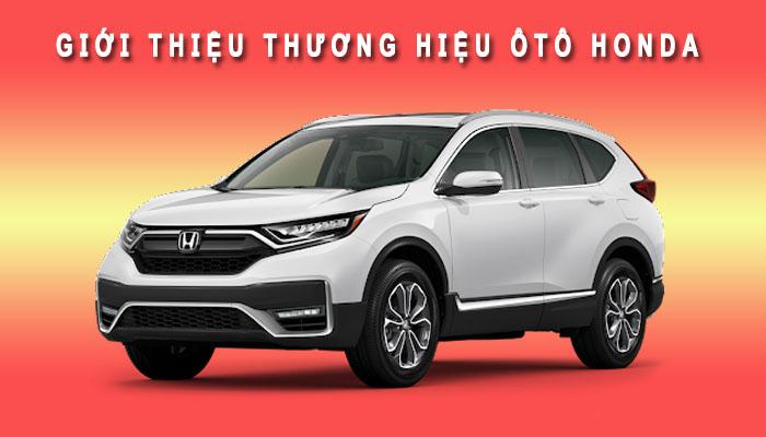 Giới thiệu thương hiệu Oto Honda