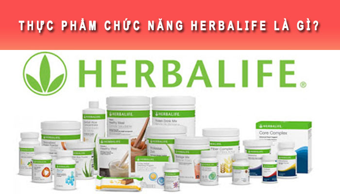 Thực phẩm chức năng Herbalife là gì