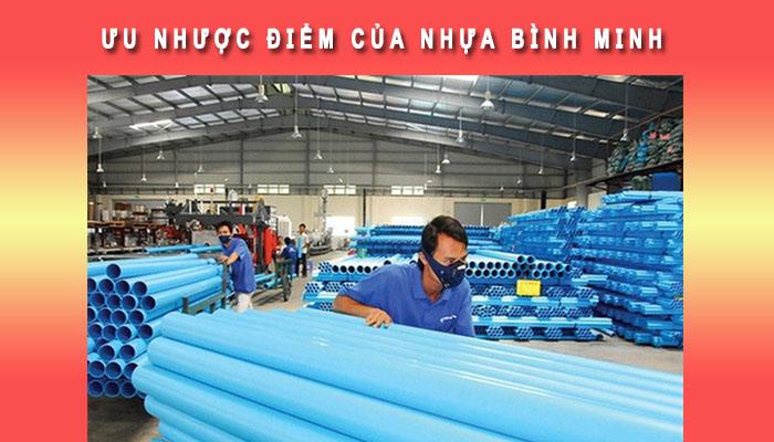 Ưu và nhược điểm nhựa Bình Minh
