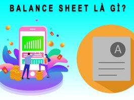 Balance Sheet là gì?
