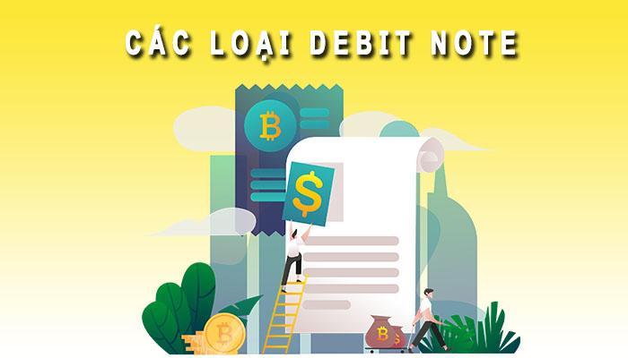 Các loại Debit Note
