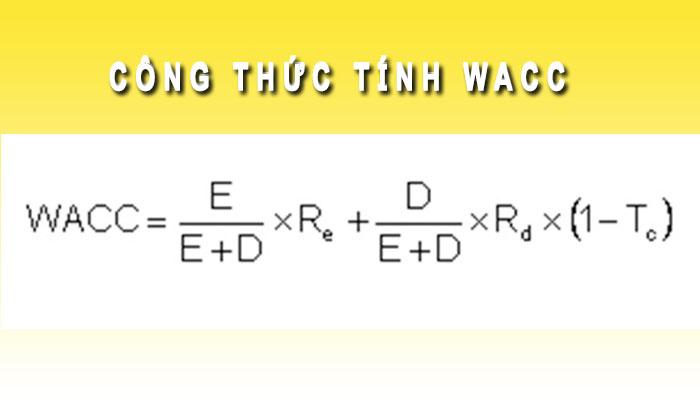 Công thức tính WACC