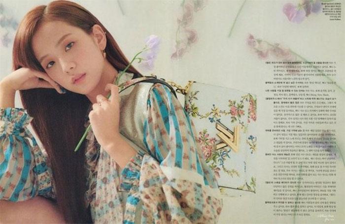 Jisoo quảng cáo LV