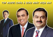 Ai là người giàu nhất châu á