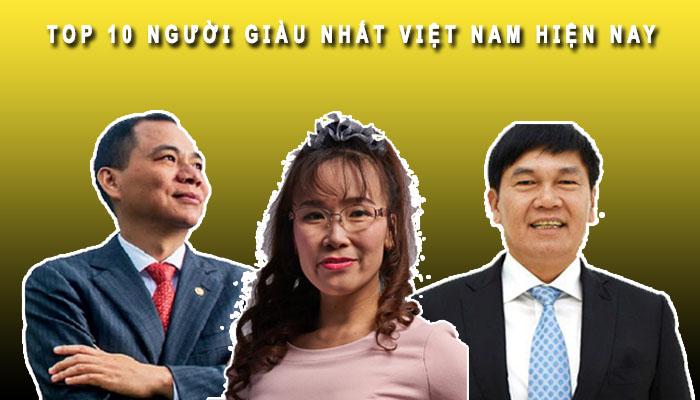 Top 10 người giàu nhất Việt Nam