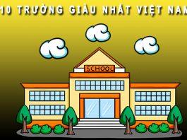 Trường giàu nhất Việt Nam